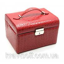 Шкатулка для бижутерии (20,5х15,5х13,5 см) (25767)