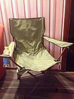 Стул раскладной туристический кресло походное + чехол