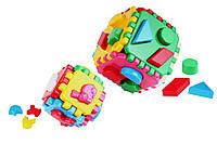 Игрушка куб Умный малыш 1+1 Іграшка куб Розумний малюк 1+1 ТехноК 1899