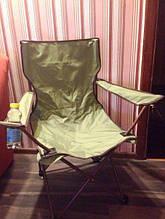 Стілець туристичний розкладний крісло доладне