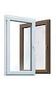 """Вікна типу """"Економ"""" з профілю WDS 5S, з двокамерний енергозберігаючим склопакетом, розміри (850х1400), фото 2"""