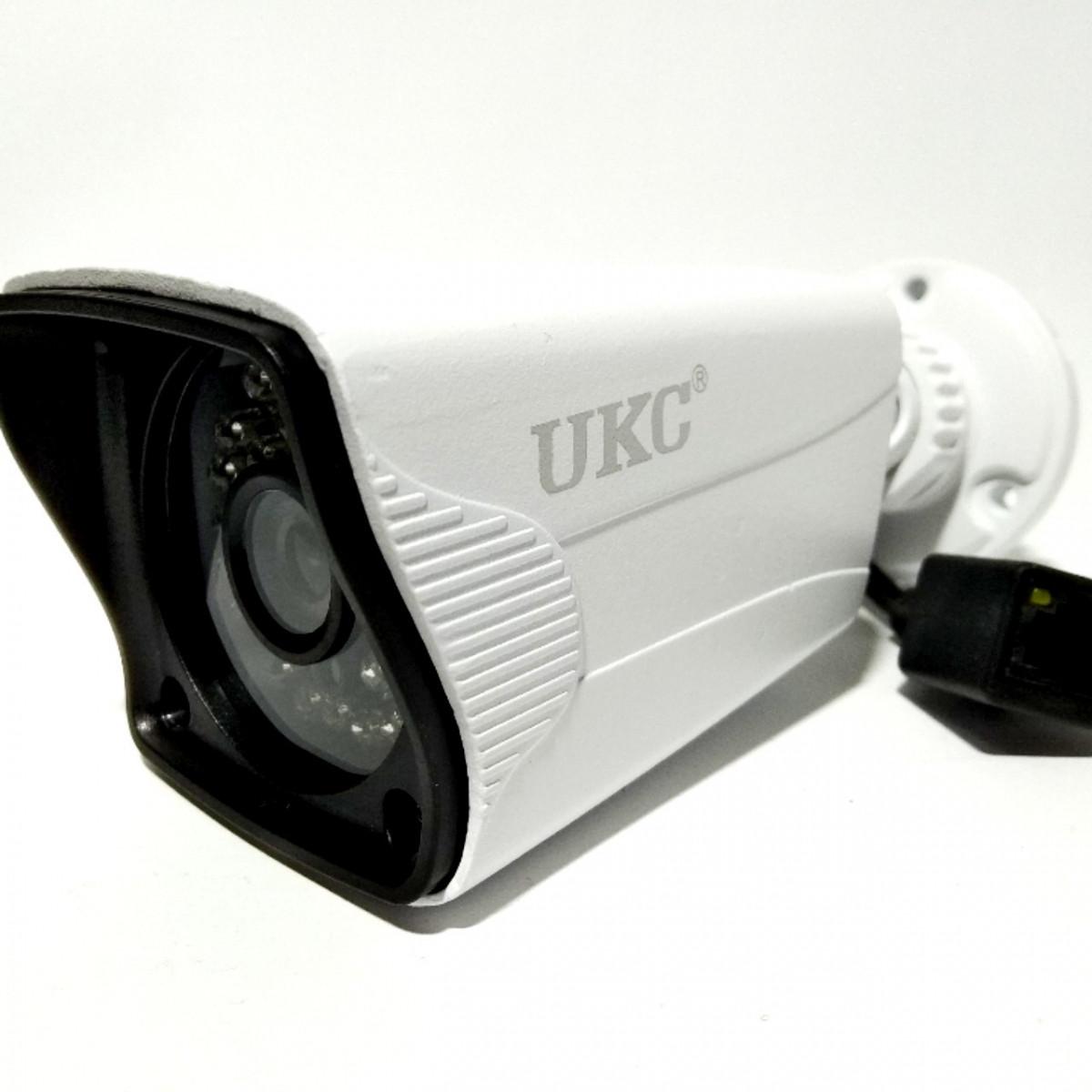 Камера CAMERA UKC IP 134 SIP 1.0MP 3,6 мм DC 12V SYS PAL ИК подсветка цифровая уличная с кронштейном