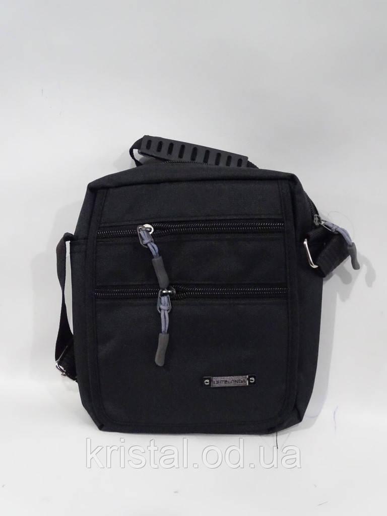 """Чоловіча текстильна сумка на плече 16*18 див. серії """"Premium"""" №4970"""