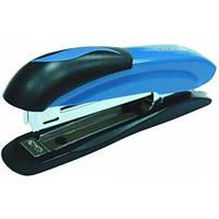 Степлер офисный для бумаги №24/6, 26/6 Economix до 20 листов металический корпус синий