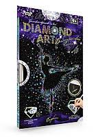 Картина со стразами набор для творчества для детей и взрослых Данко Украина Diamond Art Набор 33*23см с рамкой