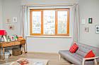 """Окна типа """"Эконом"""" из профиля WDS 5S, с двукамерным энергосберегающим стеклопакетом,размеры (2100х1400), фото 3"""