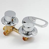 Змішувач для душової кабіни, гідробоксу G3-10 на 3 положення.