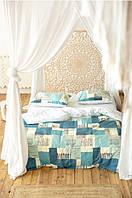 Комплект постельного белья Prestige Gold Морской бриз двуспальный SKL29-250678