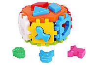 Куб Розумний малюк ГЕКСАГОН-1 Игрушка куб Умный малыш Технок 1981