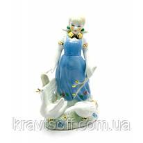 Девочка с гусями фарфор (16,5х11х7 см) (27102)
