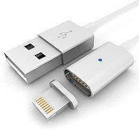 Магнитный Шнур Data кабель для зарядки USB iPhone5/6 magnetic cable DM-M12, фото 1