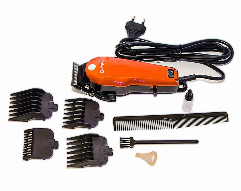Машинка для стрижки волос Профессиональная проводная с насадками GEMEI GM 1005