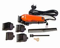 Машинка для стрижки волос Профессиональная проводная с насадками GEMEI GM 1005, фото 1
