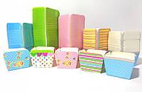 Формочки бумажные STENSON для кексов квадрат 100шт/уп 48*48*48мм, фото 1