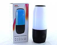 Мобильная колонка блютуз подсветка LED SPS UBL Q690 Pulse FM-радио microSD, USB 4035, фото 1