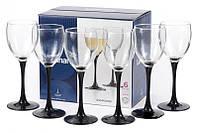 Набор бокалов Luminarc Domino 190мл 6шт для белого вина