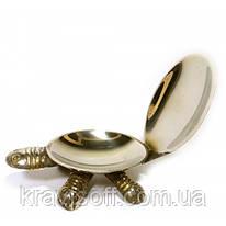 """Пепельница бронзовая """"Черепаха"""" (13,5х7,5х3,5 см) (28315B)"""