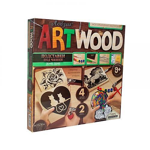 "Набор для выпиливания ""ARTWOOD: Подставки под чашки LBZ-01-06/10 Danko Toys"