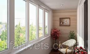 Балкони та лоджії , теплого скління