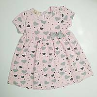 Летнее платье для девочки р. 74, фото 1