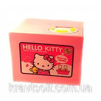 """Интерактивная копилка """"Hello Kitty"""" на батарейках (12х9х10 см) (32087)"""