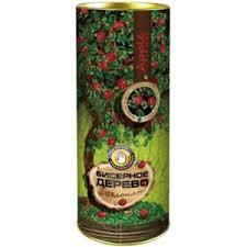 Набор для творчества Бисерное дерево бисероплетение рукоделие в тубе яблоня