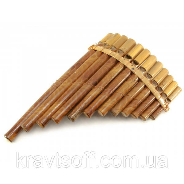 Флейта Пана бамбук (27,5х18х5 см) (29873)