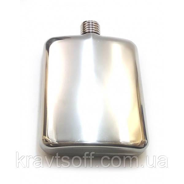 Фляга из нерж.стали (170 мл.(12х9х3 см) (32124)