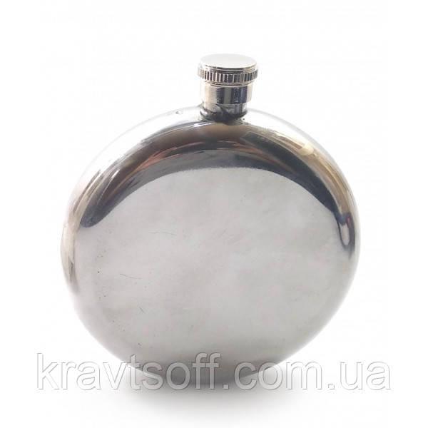 Фляга из нерж.стали (240 мл.(12,5х11х3 см) (32158)