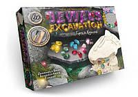 """Набор для творчества Камни """"JEWELS EXCAVATION"""" JEХ-01-02, набор для раскопок, детская обучающая игра"""
