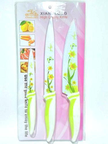 Набор кухонных металлокерамических ножей 3шт. В23