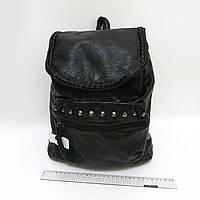 """2694 рюкзак молодежный женский с заклепками кожа  """" """"Strict"""", 30*28*12см"""