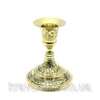 Подсвечник бронзовый (10х8х8 см) (160 г.) (27423)