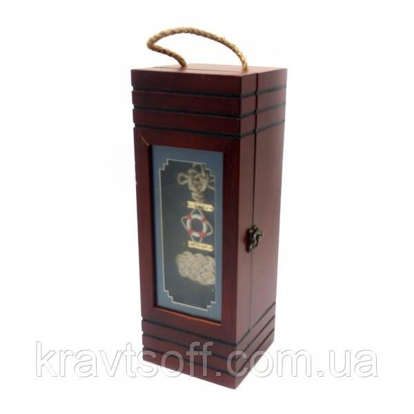 """Футляр для бутылки """"Морской"""" (35х13х11,5 см) (28413)"""