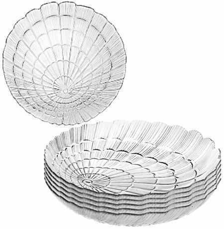 "Набор тарелок закусочных "" Атлантис"" 6шт. 240мм. 10236"