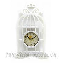 """Часы """" Птица в клетке"""" (40х20х4 см) (32832)"""