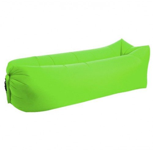 Надувной матрас диван шезлонг гамак Ламзак AIR sofa-1 GOOD RAINBOW 2.4х1.35м Салатовый