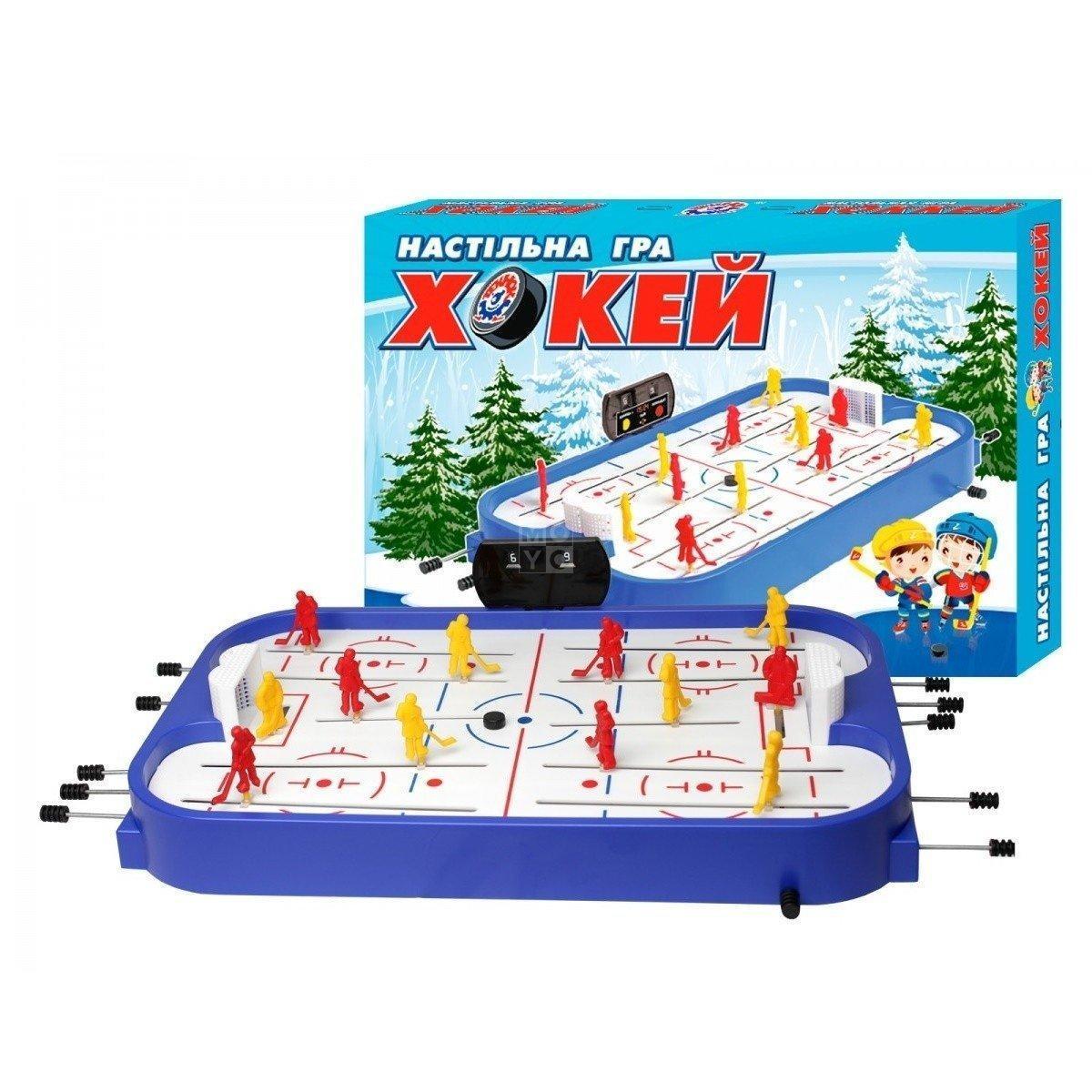 Настільна гра ТехноК Хокей (0014) в коробке пластик метал