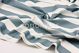Декоративная ткань/ панама Полосы морские