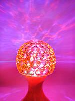 Ночник - Диско лампа в розетку шар RHD-48, фото 1