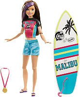 Кукла Barbie Dreamhouse Adventures Скиппер Серфингистка Спортивные сестры на шарнирах SKL52-241155