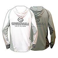 Футболка лето Kosadaka Ice Silk Sunblock UV защита, белая