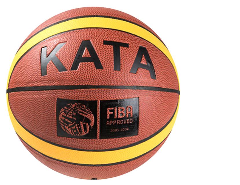 Мяч баскетбольный Кata  PU Fiba  насос в подарок Size 7