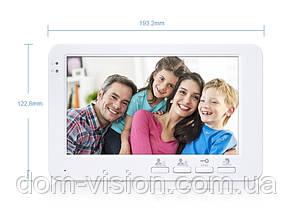 Видеодомофон DOM AHD 7SM + панель вызова DOM AHD CS01, фото 2