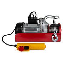 Тельфер электрический 880Вт 200-400кг 6/12м 220В ULTRA (6125022), фото 3