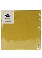 Салфетки бумажные Duni 20 шт Горчичный R2-11035201, КОД: 1760367