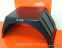 Крылья пластиковые, защита арок для грузовых авто и прицепов.