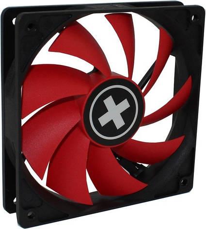 Вентилятор Xilence XPF120.R.PWM (XF042), 120х120х25мм, 4-pin, Black/Red, фото 2