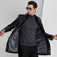 Мужская кожаная куртка. Модель 2022, фото 3