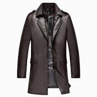 Мужская кожаная куртка. Модель 2022, фото 4